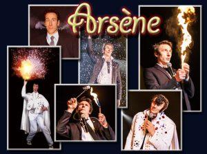 Attractions visuelles - Arsene - magie - comique -Un monde de rire et de bonheur intense s'ouvre a vous.