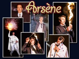 Arsene-comic-speciality acts-quovadisshow