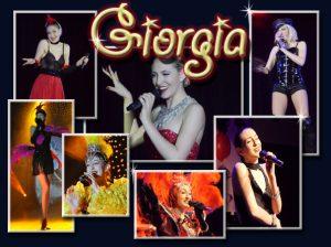 Attractions visuelles - Giorgia. Une chanteuse chaleureuse et souriante, elle vous ferra vivre une expérience de cabaret inoubliable.