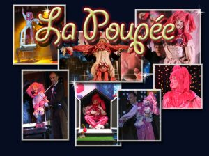 the magic doll-poupee - magie - contorsionniste - attractions visuelles