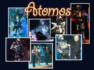 Atomos the robot-speciality acts-attraction visuelles-quovadisshow